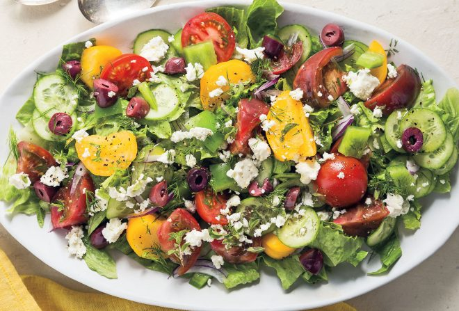 Horiatiki Greek Salad Today 041618 Tease_79c5041ae6a58da5e333029bbe2c4b88
